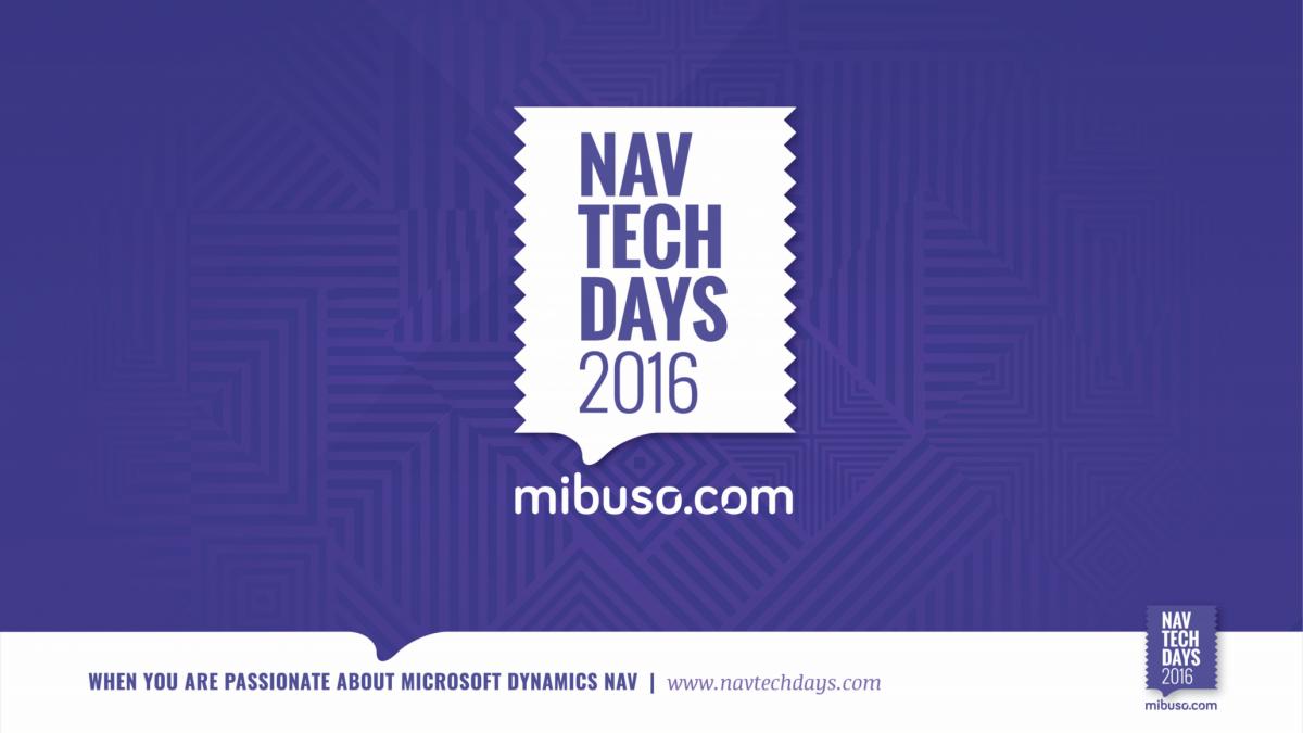 NAV Techdays 2016 Recap